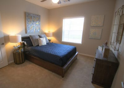 Senior Apartments in Sansom Park, Fort Worth for Rent- Sansom Pointe Senior Apartments Bedroom