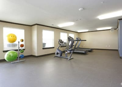 Sansom Park, Fort Worth Senior Apartments for Rent-Sansom Pointe Senior Apartments Fitness Center