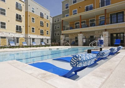 Apartments in Sansom Park, Forth Worth -Sansom Pointe Senior Apartments Swimming Pool